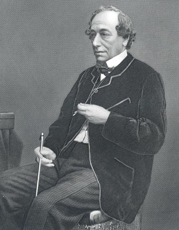 Benjamin Disraeli, the Earl of Beaconsfield.
