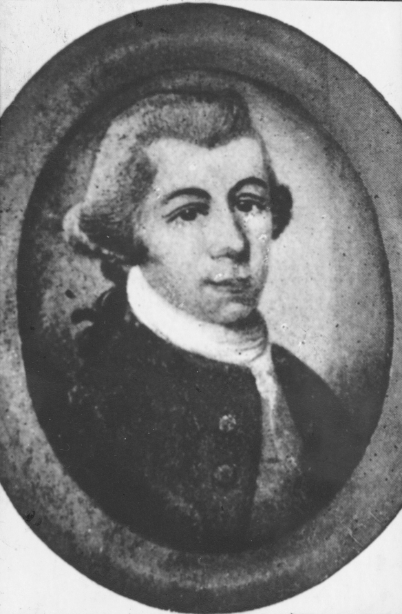 Walter Patterson, the Island's first Governor.  He was also a beneficiary in the 1767 land lottery that saw all of PEI granted to a select few individuals over the course of a single day.