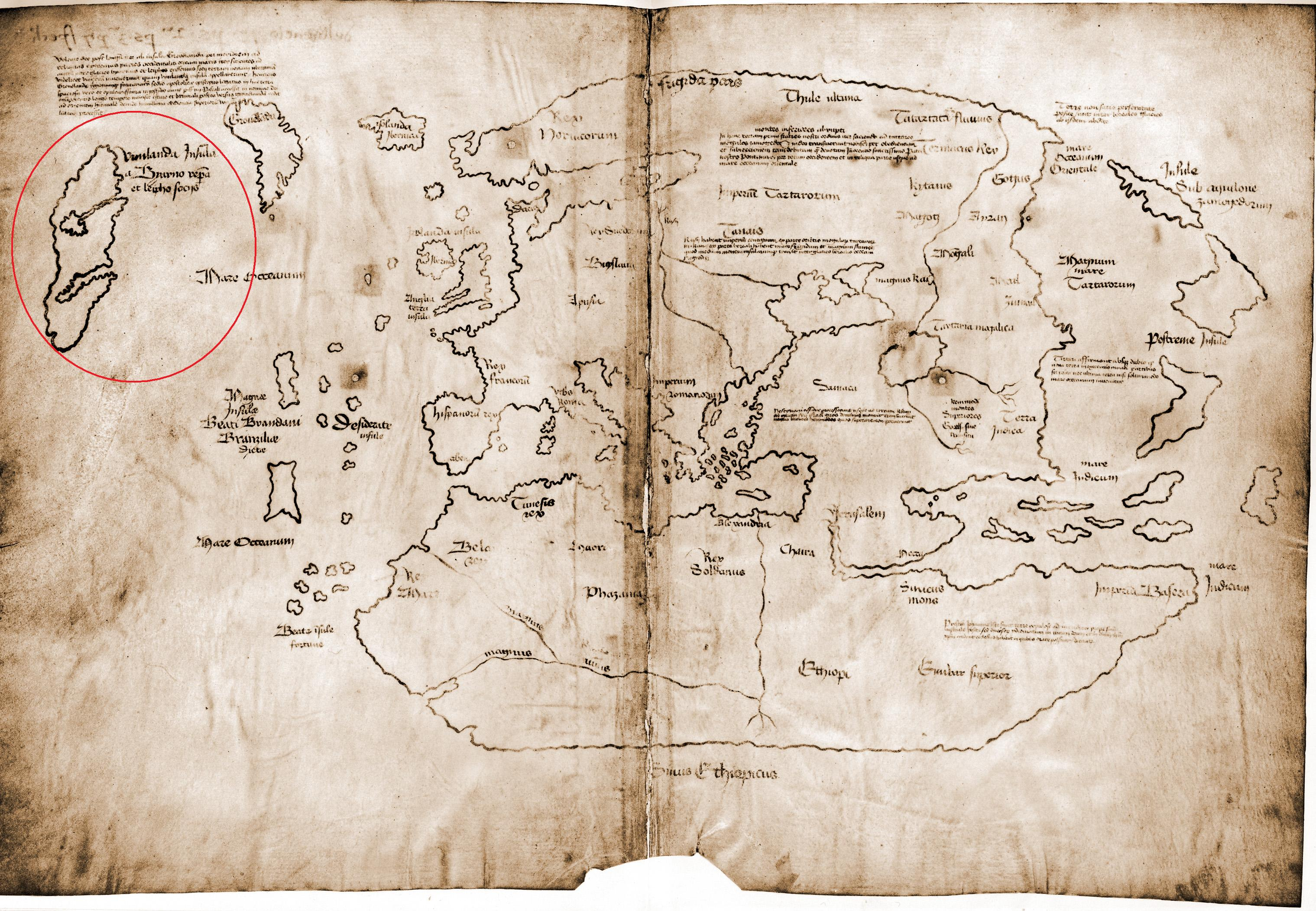 The Vinland Map, with