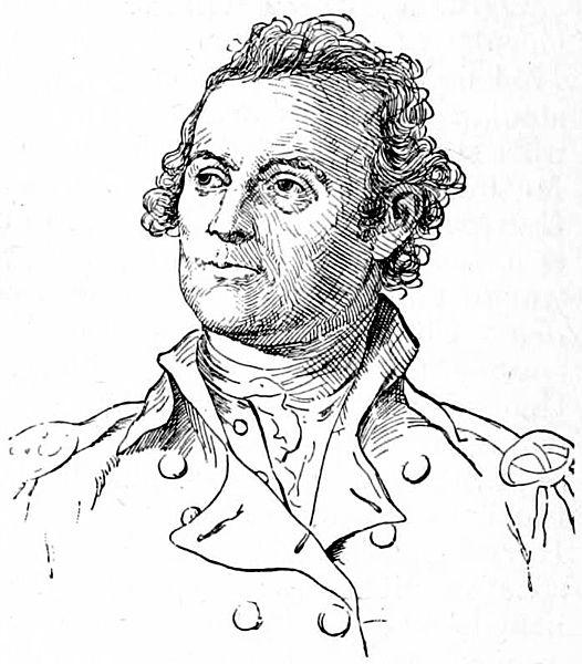 Colonel John Glover of the Marblehead regiment (militia).