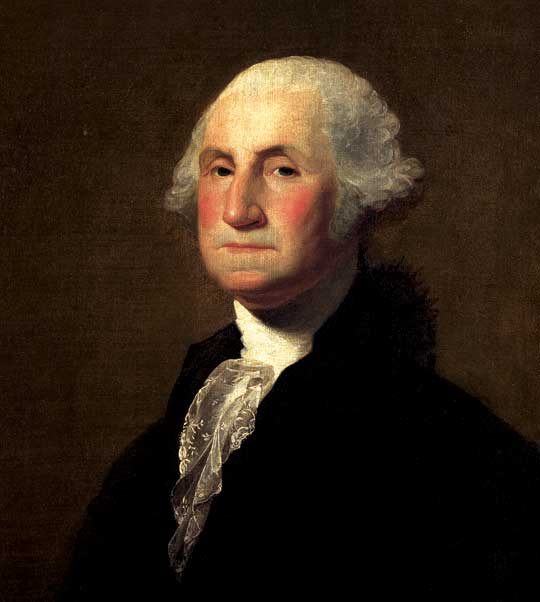 George Washington, Commander of the Continental Army, and future President of the United States of America.