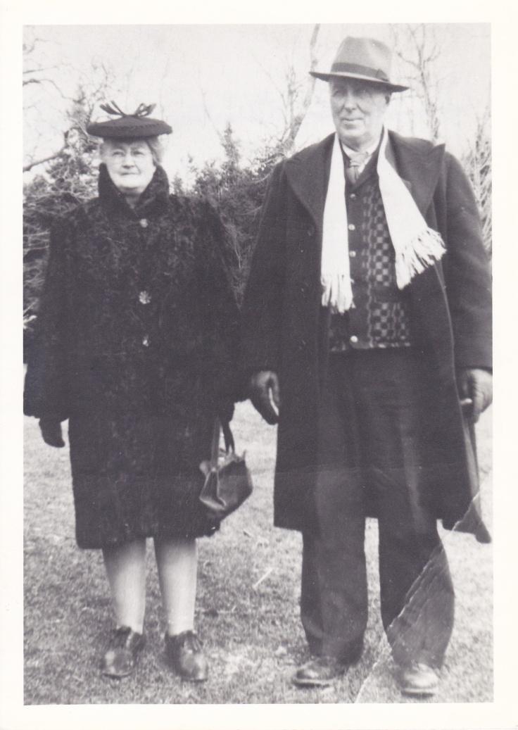 John Hamilton Stewart and Christina Nicholson, c.1950s.