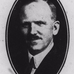 Photograph of Arthur Roland Brennan, taken around the time he assumed the presidential mantle of the Journal Publishing Company following the death of his father, William Arthur Brennan, in 1916.