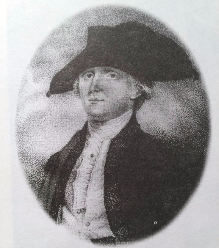 Gen. Edmund Fanning. The Island's second governor, he came here a slave owner, but was also among the first to liberate his slaves.