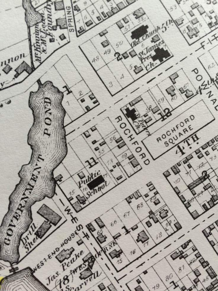 Detail of the Bog, as it appeared in Meacham's 1880 Illustrated Historical Atlas of Prince Edward Island.